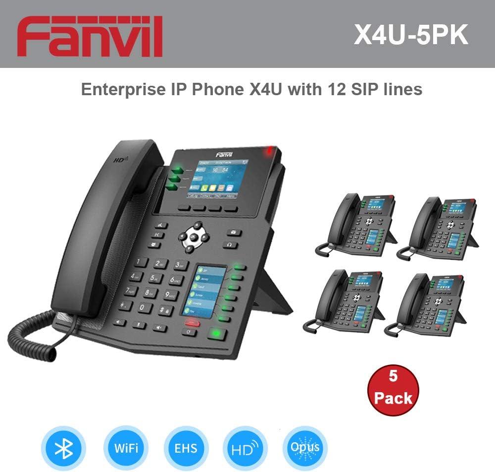 Đặc điểm nổi bật của điện thoại IP Fanvil X4U