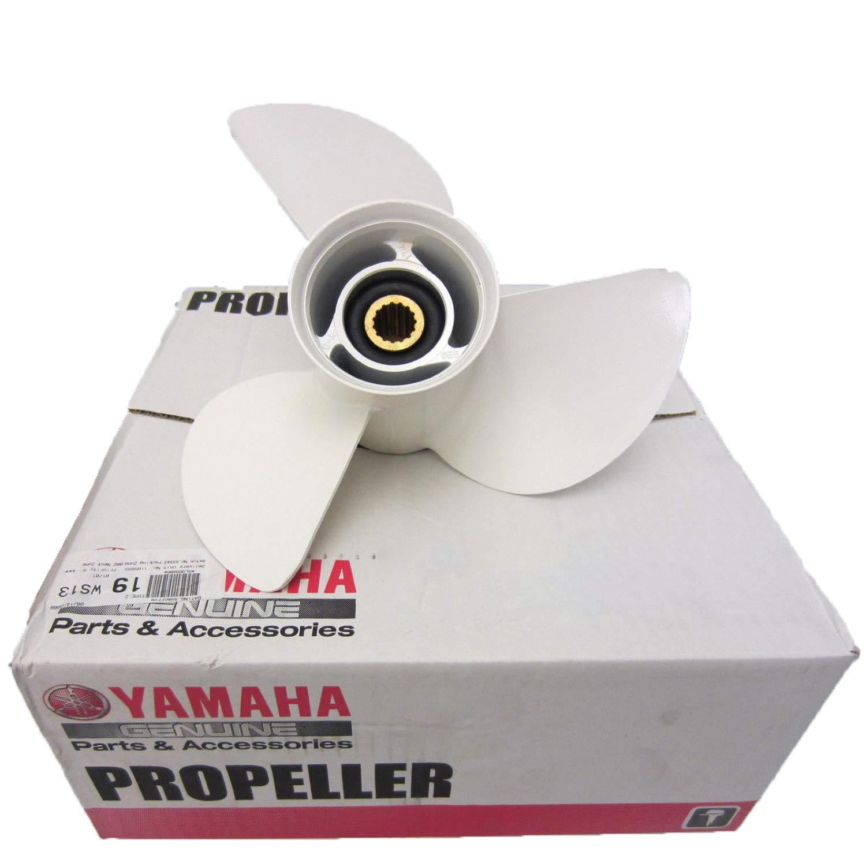 OEM Yamaha Aluminum 3 Blade Prop Propeller 13 x 19 6E5-45941-00-00