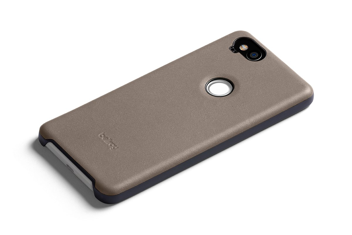 hot sales e3171 f38e7 Bellroy Leather Case for Pixel 2 - Stone