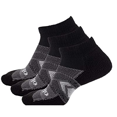 thorlos Wcmu Max Cushion 12 Hour Shift Ankle Socks at Men's Clothing store