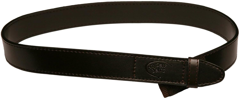 Myself Belts Easy to Fasten Belt for Little Boys ~ Leather blend