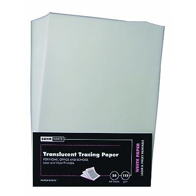 Paperstate WP0035 - Papel de calco (A4, 112 g/m², 25 unidades): Oficina y papelería