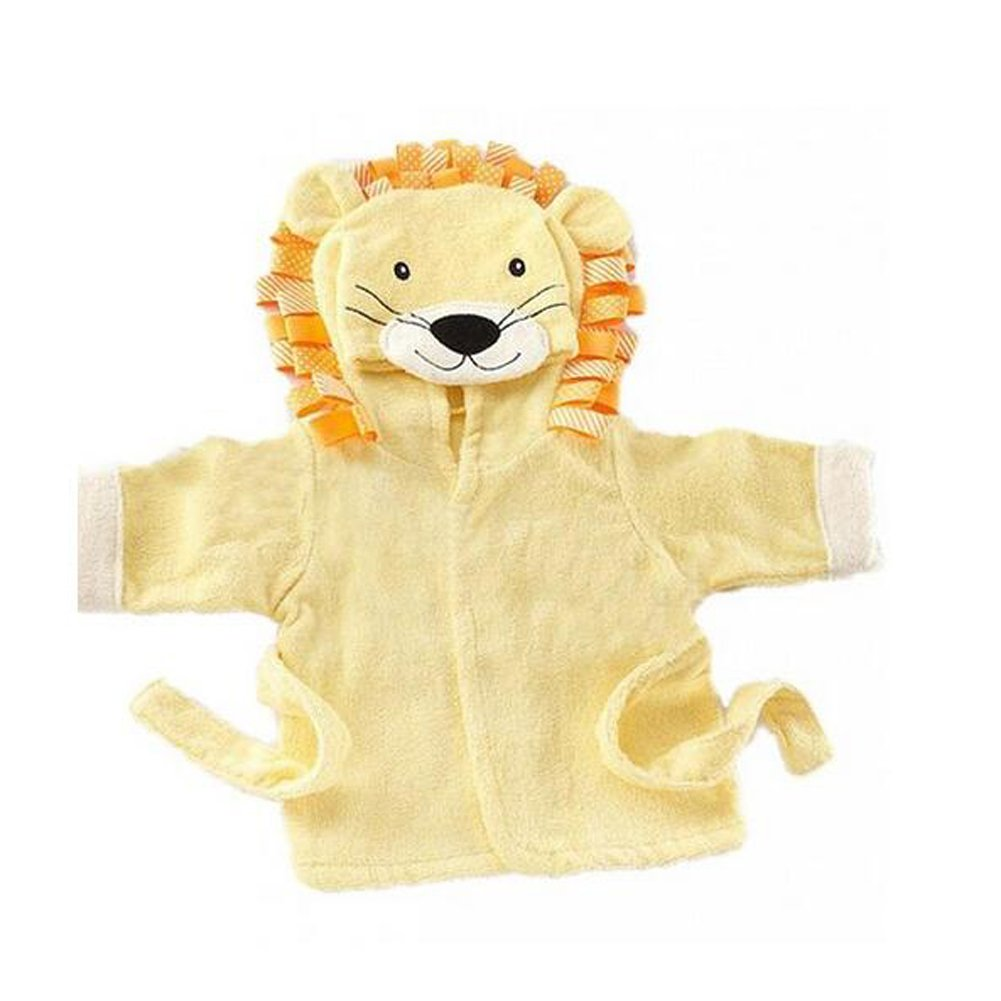 Yunsenshop Baby Girls & Boys Hooded Animal Bathrobe Robes Bath Towel Super Soft Lion