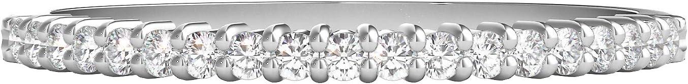Helzberg Diamonds 10K Gold 1/7 cttw Diamond (I-J Color, I2-I3 Clarity) Band, Size 7