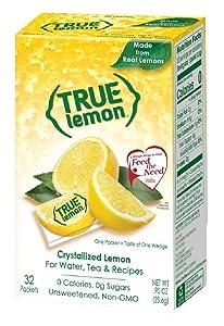 True Lemon Crystallized Lemon, 0.03 Ounce (Pack of 192)