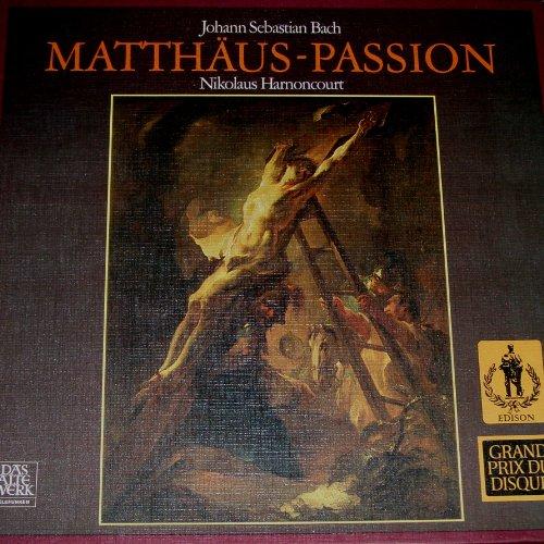 (Johann Sebastian Bach: Matthaus-Passion / Nikolaus Harnoncourt (Grand Prix Du Disque))