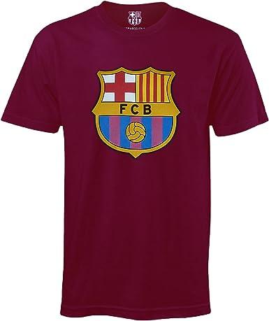 FC Barcelona - Camiseta oficial para niños - Con el escudo del club: Amazon.es: Ropa y accesorios