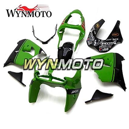 Amazon.com: WYNMOTO ABS Plastic Motorcycle Complete Fairings ...
