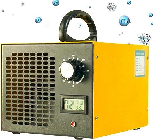 TYQIAO Generador De Portátil del Ozono, Comercial Purificador De Aire Integrado, Generador De Ozono Coche, Generador para Habitaciones, Humo, Coches Y Animales Domésticos: Amazon.es: Hogar