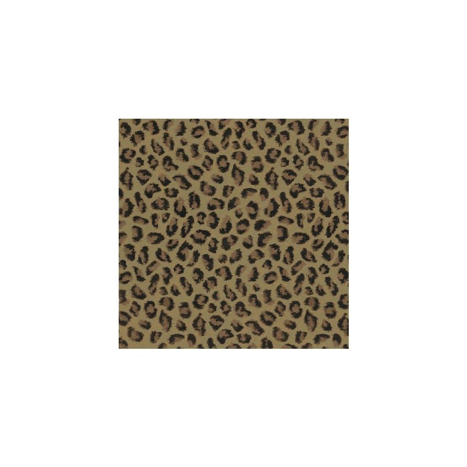 allen + roth Brown Leopard Print Wallpaper LW1341377