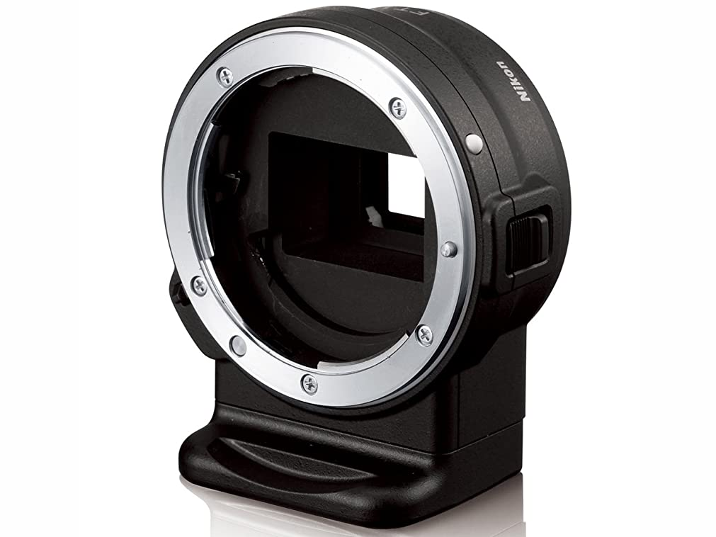 風景ビートホイストCommlite レンズマウントアダプター CM-ENF-E1 PRO  (ニコンFマウントレンズ → ソニーEマウント変換) 電子接点付き