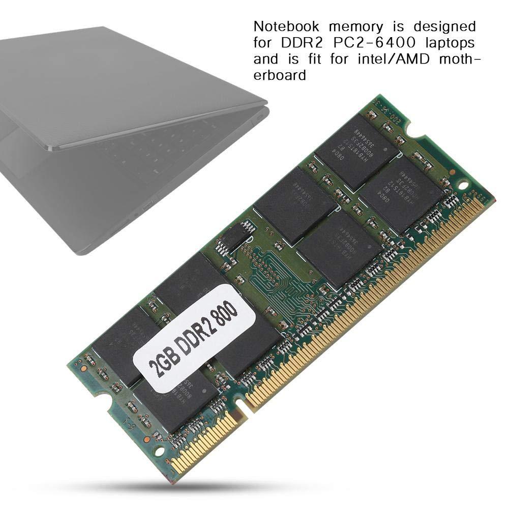 Fishlor Memoria DDR2 2GB RAM, DDR2 2G 800MHZ para PC2-6400 ...