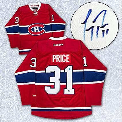 e7e17e1f938 Image Unavailable. Image not available for. Color: Carey Price Montreal  Canadiens Autographed Nhl ...