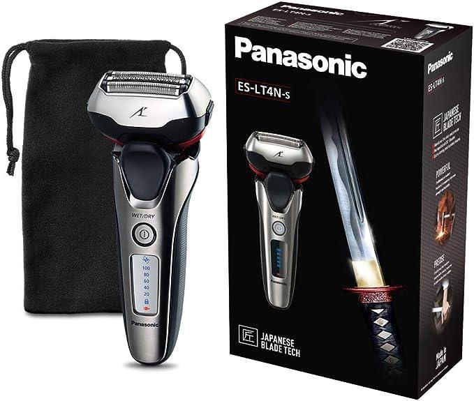 Panasonic ES-LT4N-S803 - Afeitadora eléctrica para hombre, 3 hojas, lineal, color 3D metal: Panasonic: Amazon.es ...