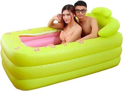 LY-bathe - Bañera Hinchable Doble/Tubo Grueso/Tubo Plegable/Doble ...