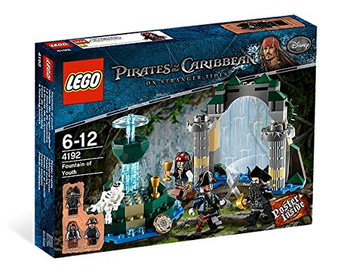 LEGO Pirates Of the Caribbean Fountain of Youth 4192 ()