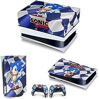 Capa Anti Poeira e Skin PS5 Horizontal - Sonic