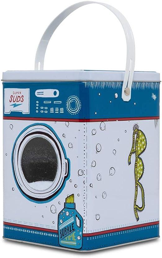 D-Mail - Recipiente de Lata para detergente en Polvo de Lavadora ...