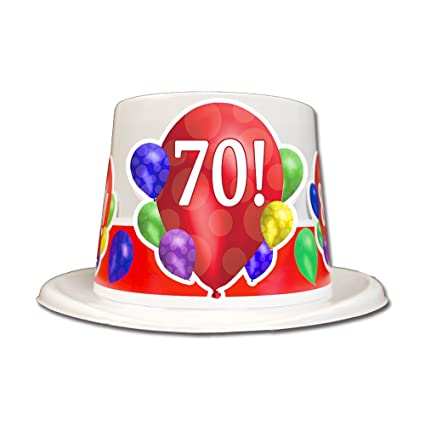 Amazon 70TH BIRTHDAY BALLOON BLAST TOP HAT EACH Kitchen Dining