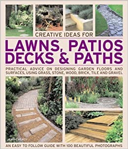 Creative Ideas for Lawns, Patios, Decks and Paths ... on Patio Surfaces Ideas id=16377