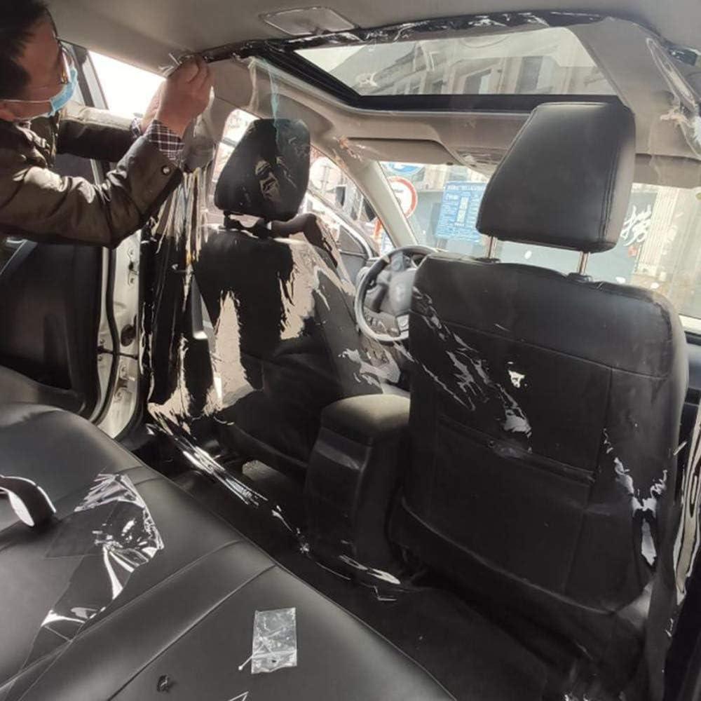ZXLIFE@@ Autotaxi-Isolationsfilm einstellbare Gr/ö/ße Keine Beeintr/ächtigung der Sicht Autoschutzfilm f/ür Fahrer f/ür alle Autos,1.5x1.8m Vermeidung von Kreuzinfektionen