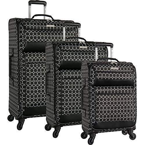 Ninewest Set, Black/White (Nine West Set Luggage)