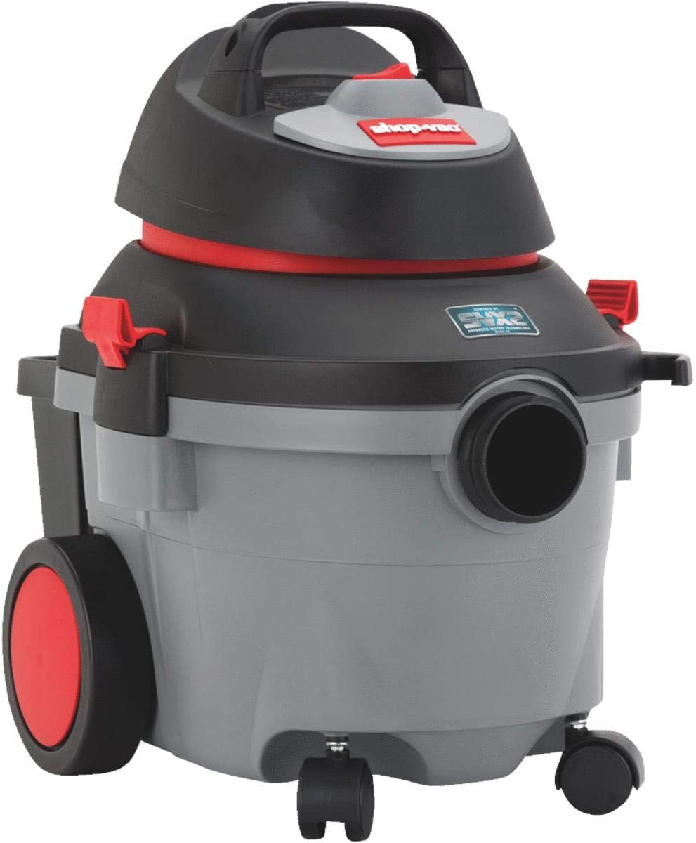 SHOP VAC CORP 5910400 Wetdry Vac 4Gallon 5.5Hp, Gray