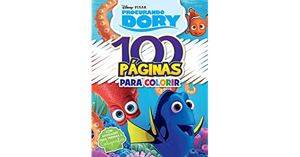 Disney Pixar 100 Paginas Colorir Procurando Dory Jefferson