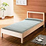 GX&XD cotton Thicken Floor lounger cover,Anti-skidding Tatami floor mat Folding mattress Lounger for reading Floor mattress Carpet-K 90x200cm(35x79inch)