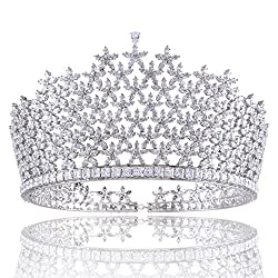 Platinum Plated Bridal Tiara