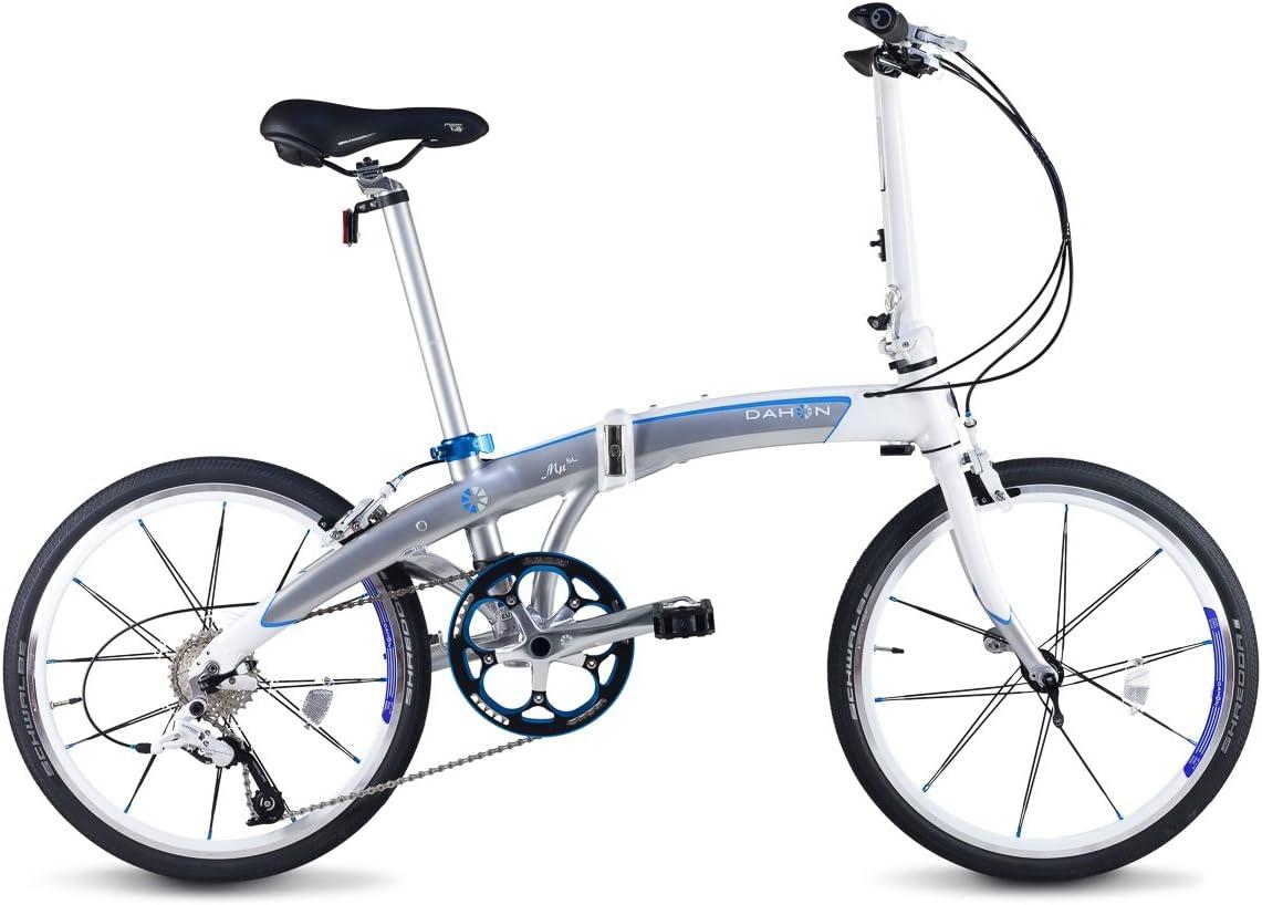 Dahon Mu SL Bicicleta Plegable, Unisex Adulto, Gris (Mercury), 20 ...