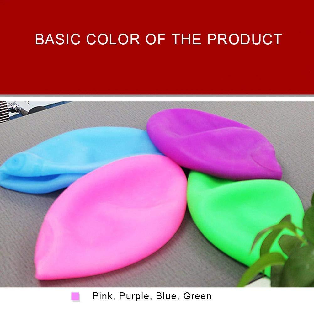 Partyabmessungen Tischrock aus Kunststoff 7,6 x 4,3 m Hellblau hot pink