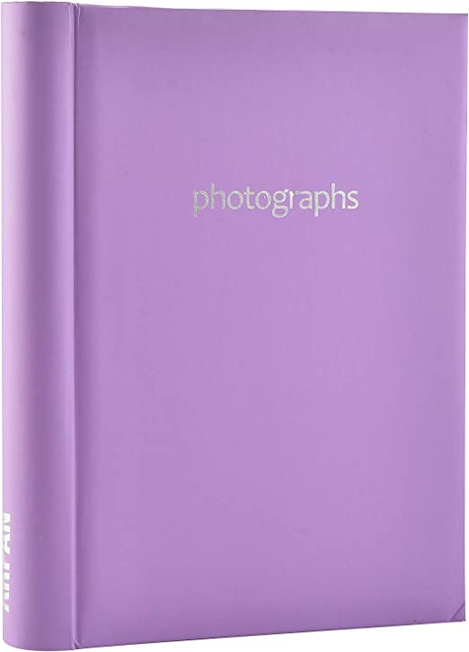 SM72PK Pink Self Adhesive 36 Sheets //72 Sides Spiral Bound Photo Album for Gift