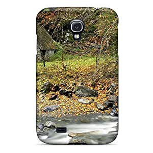 Case Cover Stone Cottage By The River/ Fashionable Case For Galaxy S4