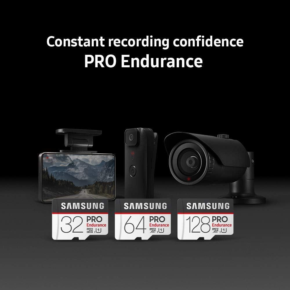 Samsung PRO Endurance 32GB 100MB/s (U1) MicroSDXC Memory Card with Adapter (MB-MJ32GA/AM): Computers & Accessories