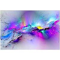 Butterfly Iron Mariposa de Hierro Abstracto Colorido Nube Arte de Pared Pintura Decorativa para Sala de Estar Recámara