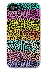 Rainbow Leopard PC Hard new iphone 4 case for boys
