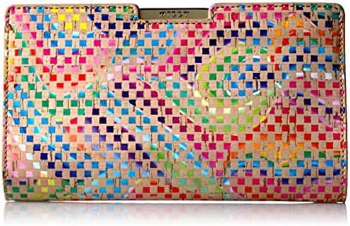 MILLY Geo Rainbow Sm Frame Clutch