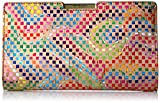 MILLY Geo Rainbow Sm Frame Clutch, Multi