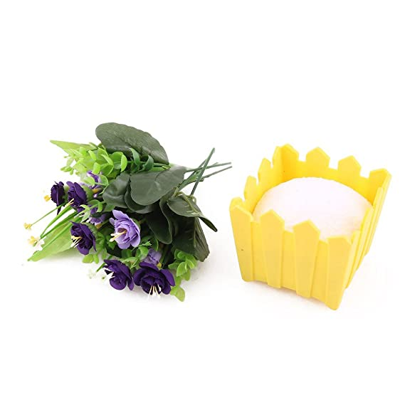 Amazon.com: eDealMax Flores artificiales de Emulational boda ...