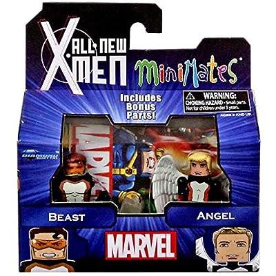 Marvel Minimates All New X-Men Series 59 Mini Figure 2-Pack Beast & Angel by Diamond Select: Toys & Games [5Bkhe1106808]