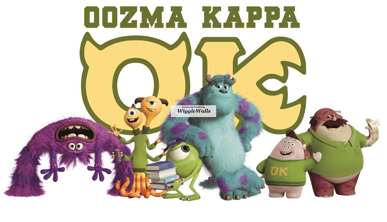 Amazon.com: 16 INCH Oozma Kappa Monsters Inc University Removable ...