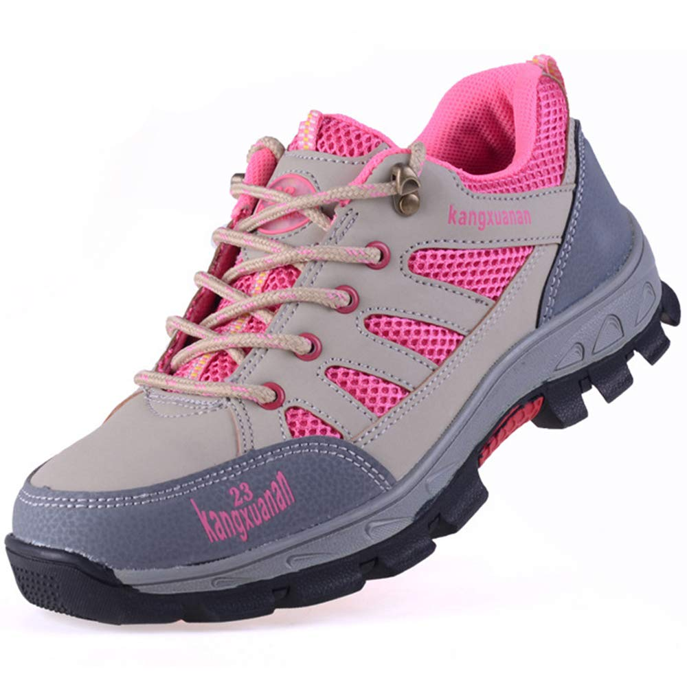 SITAILE Mens Womens Steel Toe Shoes,Slip Resistant Safety Shoes Industrial and Construction Work Sneakers