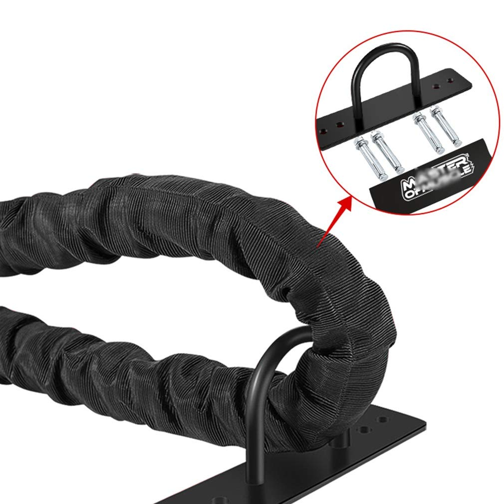 BAI-Fine Battle Rope - 38mm Width Poly Dacron 9m/12m/15m Length Exercise Undulation Ropes - Gym Muscle Toning Metabolic Workout Fitness Exercise (Color : Diameter 38cm, Size : 9m) by BAI-Fine (Image #3)