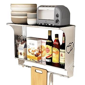 Mensole Di Acciaio Per Cucina.Conservazione Della Cucina Mensola Da Cucina In Acciaio Inox