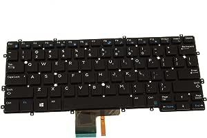 Original New for Dell Latitude 7370 US Backlit Laptop Keyboard NSK-LZABC PK131IC1A00 KTYW0 NSK-LZABC 01