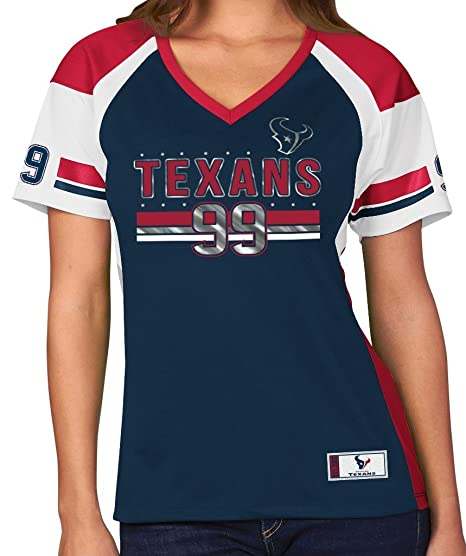 buy online 3b9e7 6cb67 Amazon.com : Majestic JJ Watt Houston Texans Women's Navy ...