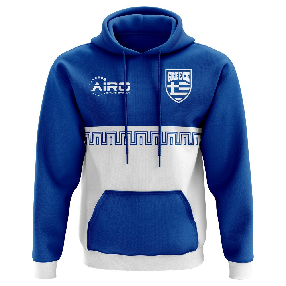 Airo Sportswear 2018-2019 Greece Home Concept Football Hoody