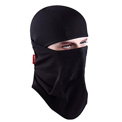 Aegend Balaclava Windproof Ski Face Mask Winter Motorcycle Neck Warmer Tactical Balaclava Hood Polyester Fleece for Women Men Youth Snowboard Cycling Hat Outdoors Helmet Liner Mask, 1 Piece