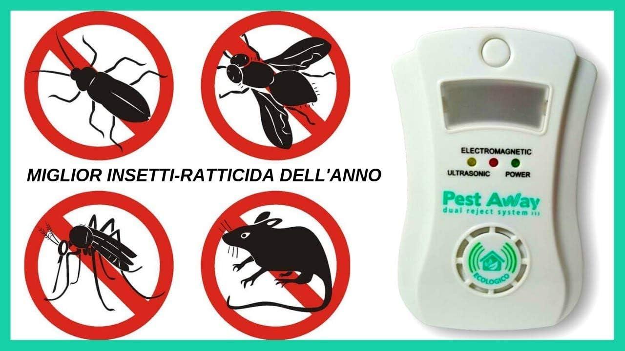 Pest Away Antizanzare Antiroditori Ad Ultrasuoni Amazon It Giardino E Giardinaggio